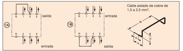 Cas 1. Réseau sans neutre avec 220 à 240 V AC entre phases.